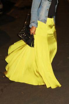 Yellow freedom style