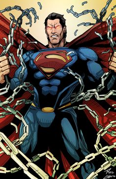 The Man of Steel Unchained by phil-cho on deviantART
