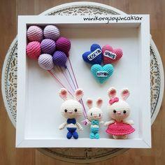 love this idea Crochet Baby Toys, Crochet Amigurumi, Easter Crochet, Crochet Art, Crochet Home, Crochet Gifts, Cute Crochet, Amigurumi Patterns, Crochet Dolls