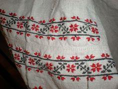 Фрагмент вышивки сорочки. Киевщина