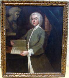 Portrait De Musicien Huile/toile Ecole Anglaise 18ème, ARTE TRES GALLERY, Proantic