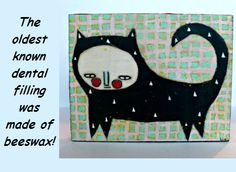*Nursery Decor On The CraftStar*    _Original Bees Wax Kitty Cat Artwork $30.00_     This  4.5x3.5 inch Kitty will be the perfect gift for any special occasion ! Cat lovers, baby showers, even a toddlers birthday! Covered in beeswax for longevity and gift wrapped for easy gifting!    Find it here : http://ow.ly/s5Caj     For more unique artwork from Lia's Beeswaxed please visit :    http://liasbeeswaxed.thecraftstar.com/  #popupposts artwork kittyart caturday thecraftstar