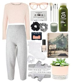 """""""09:21PM"""" by ma-mode ❤ liked on Polyvore featuring STELLA McCARTNEY, Ash, River Island, Hue, Hostess, Natasha Couture, CASSETTE, Berry, Cath Kidston and LAFCO"""
