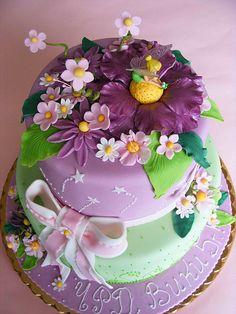 Tinkerbell cake for Viki