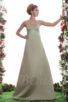Sashes/Ribbons A-Line Strapless FLoor-Length Nastya's Bridesmaid Dress