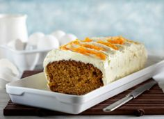 Carrot cake/Kevyt porkkanakakku Finland