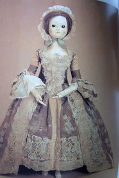 Fascinating blog post about the history of fashion dolls, used to spread the latest fashions.
