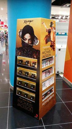 "Michael Jackson's new album ""Xscape"", promo in Dubai, 2014"