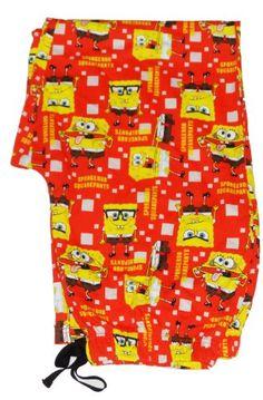 MENS NICKELODEON SPONGEBOB SQUAREPANTS PYJAMA BOTTOMS LOUNGE PANT LARGE NIGHTWEAR PJS OFFICIAL - 100%OFFICIAL SPONGEBOB SQUAREPANTS Mens Lounge / Pyjamas Pants Great pants for any fan of the huge SPONGEBOB SQUAREPANTS , with an elasticated waist thes