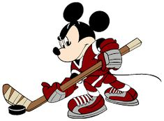 Images of Disney's Mickey Mouse snorkeling, playing guitar, painting, talking on the phone, etc. Minnie Mouse, Disney Mickey Mouse, Disney Love, Disney Art, Walt Disney, Hockey Drawing, Embroidery Designs, Hockey Decor, Mouse Paint