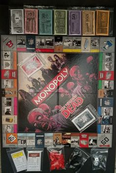 Monopoly The Walking Dead Survival Edition Board Game Complete | Toys & Hobbies, Games, Board & Traditional Games | eBay!