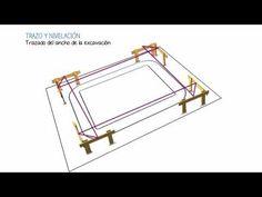Trazo y nivelación - YouTube