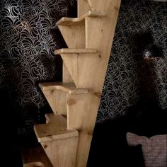 Space saving stairs
