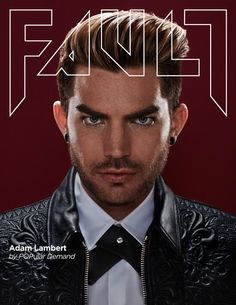 "Adam Lambert on the latest cover of Fault Magazine - The 33-year-old also talks about the way in which the process of recording the record has changed him, adding: ""I think I feel more confident in my talent than I did before, and more clear in my direction. I don't feel I have to assert myself as much, which means there's a lot less ego in the music."