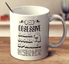 Obsessive English Cocker Spaniel Disorder