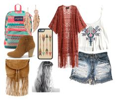 """""""Boho"""" by marisa-bowling on Polyvore featuring JanSport, LeiVanKash, Report, Warehouse and H&M Jansport, Bowling, Warehouse, Boho, Polyvore, Stuff To Buy, Shopping, Collection, Design"""