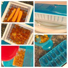Homemade Baby Food & Munchkin Food Maker Review