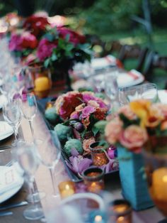 Reception, Flowers & Decor, yellow, pink, red, blue, gold, Flowers, Wedding, Indian, Mexican, Multicultural