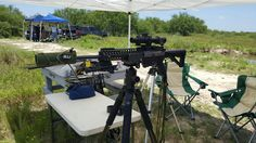 Friday at the range POF P-415, GEMTECH Trek Ti, rifles only HAD cover, Primary Arms 1-8x platinum