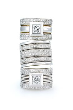 Gorgeous finishing touches from Jenna Clifford in South Africa Jenna Clifford, Princess Cut Rings, Jewelery, Rings For Men, Silver Rings, Stone, Diamond, My Style, How To Make