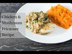 Chicken and Mushroom Fricassee — Tastes Lovely