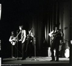 1133: The Rolling Stones 1963 Lot of 12 B/W Live Concert Negatives With Full Rights - Store - Backstage Auctions, Inc.