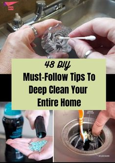 Diy Home Cleaning, Household Cleaning Tips, Deep Cleaning Tips, House Cleaning Tips, Natural Cleaning Products, Cleaning Solutions, Cleaning Recipes, Cleaning Hacks, Household Items