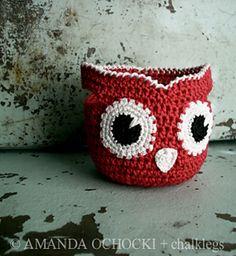 Red Owl Basket