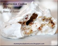 Mommyhood Essentials: Resurrection Cookies. Definatly making these tonight, what a great way to keep the focus on the true meaning of Easter