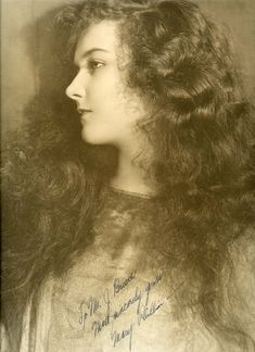 Mary Philbin (The Phantom of the Opera, 1925) Autographed Photo