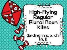 Speechie Freebies: High-Flying Regular Plural Noun Kites FREEBIE! Pinned by SOS Inc. Resources. Follow all our boards at pinterest.com/sostherapy/ for therapy resources.