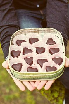 Life is a box of chocolates :) Heart Shaped Chocolate, Chocolate Hearts, Chocolate Box, Artisan Chocolate, Chocolates, Giving Hands, Heart Shaped Candy, Fashion Themes, Felt Hearts