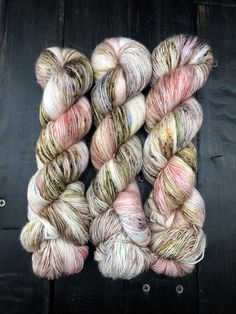 Tattered Lace-Coquette-Super Fine Ready to Ship Knitting Yarn, Hand Knitting, Mermaid Fairy, Fingering Yarn, Lace Curtains, Irish Lace, Finger Weights, Hand Dyed Yarn, Yarn Colors