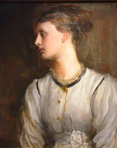 May Prinsep by G F Watts, niece of Henry Thoby Prinsep. May's father was Charles Robert Prinsep.