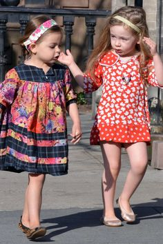 Celebrity Kids Fashion - Suri Cruise, Harper Beckham, Blue Ivy Carter (Vogue.com UK)