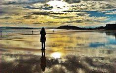Una mañana de marzo en la playa del Sardinero.. #Santander