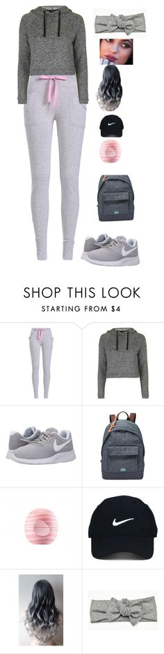 """Untitled #136"" by solaritribe201 ❤ liked on Polyvore featuring Topshop, NIKE, FOSSIL, Eos and Nike Golf"