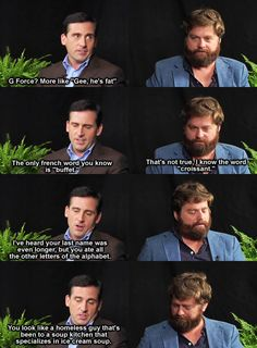 Between Two Ferns with Zach Galifinakis is quite possibly the most awkward thing on Funny or Die but, it cracks me up.