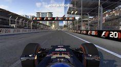 F1 2016 exibe o Circuito de Azerbaijão na cidade de Baku antes de sua estreia na Fórmula 1 (Foto: Reprodução/YouTube)
