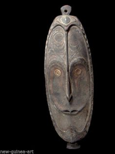 Old Mask from Lower Sepik  Papua New Guinea