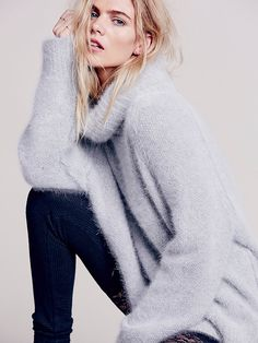 Free People Cozy Luxe Turtleneck