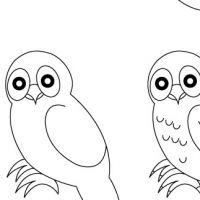 Dessin corbeau corbeaux dessin dessin oiseau et corbeau - Chouette a dessiner ...