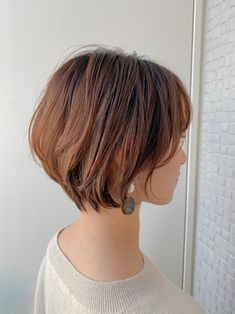 Hairstyles For Round Faces, Cool Hairstyles, Japanese Short Hair, Shot Hair Styles, Cute Haircuts, Bob Styles, Pixie Haircut, Pixie Cut, Hair Dos