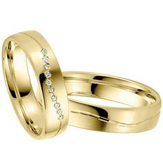 awesome The Yellow Gold Wedding Ring Sets, Way to Buy It?