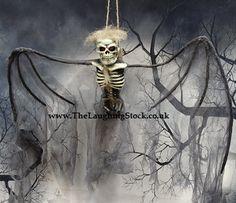 Hanging Bat Skeleton