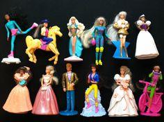 12 Barbie McDonalds Happy Meal Toys