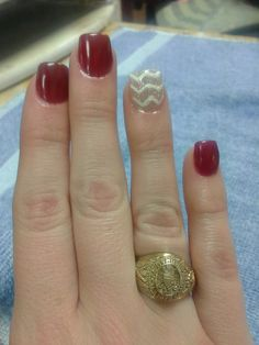 My Texas A&M nails!