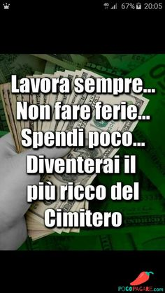 Immagini Divertenti per Facebook e Whatsapp - Pocopagare.com Italian Lessons, Carpe Diem, Sentences, Things To Think About, Real Life, Fitness Motivation, Writer, Life Quotes, Inspirational Quotes