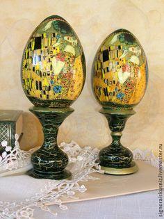 """Яйца ручной работы. Ярмарка Мастеров - ручная работа Сувенирное яйцо  """"Поцелуй"""". Handmade."""