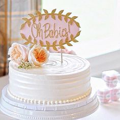 twin baby shower cake topper oh baby cake topper gold glitter cake topper cake topper twin baby shower twin birthday